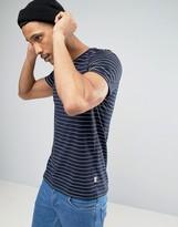 Kiomi T-shirt With Stitched Stripe