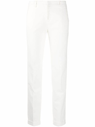 Incotex Cropped Skinny-Fit Trousers