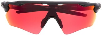 Oakley geometric-frame sunglasses