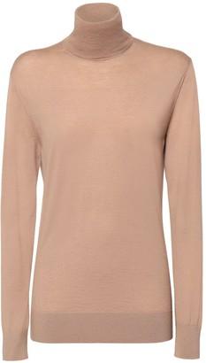 Dolce & Gabbana Over Knit Cashmere Turtleneck Sweater