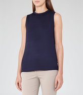 Reiss Gaia High-Neck Tank Top