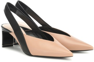 Nicholas Kirkwood Amira slingback leather pumps