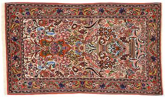 "One Kings Lane Vintage Persian Bijar Vase Rug - 3'3"" x 5'4"" - Esmaili Rugs & Antiques - multi"
