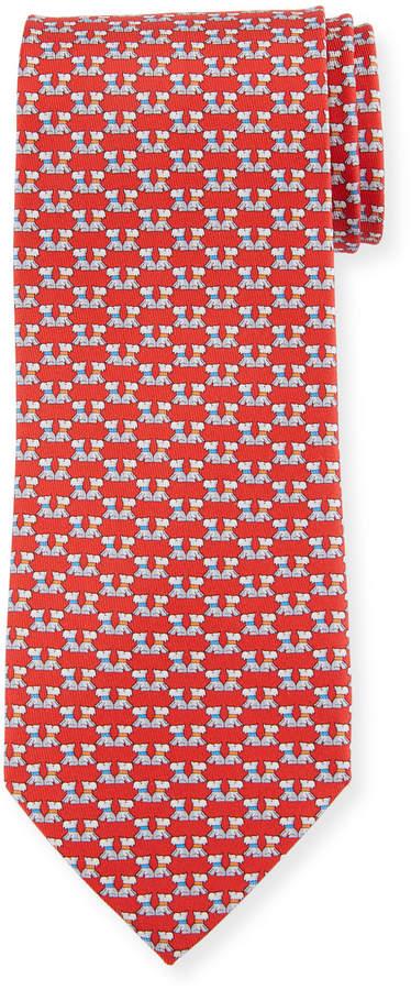 fc6e31b8545e Ferragamo Tie Dog - ShopStyle