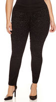 Bisou Bisou Knit Pull-On Pants-Plus