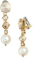 Miu Miu Women's Classic Faux Pearl Drop Earrings