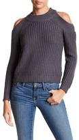 Noisy May Vena Long Sleeve Cold Shoulder Sweater