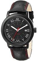 88 Rue du Rhone Men's 87WA120041 Double 8 Origin Analog Display Swiss Automatic Black Watch