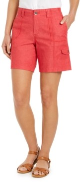 Style&Co. Style & Co Chambray Shorts, Created for Macy's