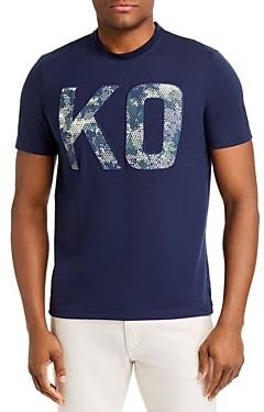 Michael Kors Kxt Graphic Logo Tee