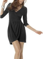 Shape Fx Black Rachel Dress