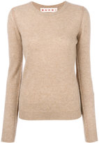 Marni fitted cashmere sweater