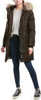 Mackage Rena Leather-Trim Coat
