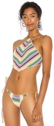 Frankie's Bikinis X REVOLVE Jimi Crochet Halter Top