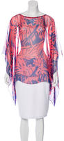 Gucci Printed Oversize Blouse