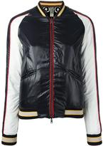 Herno zipped jacket - women - Silk/Polyamide/Polyester - 42