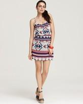 Dress - Tribal Print Cinch Waist