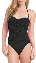 LaBlanca La Blanca Island Goddess Bandeau One-Piece Swimsuit