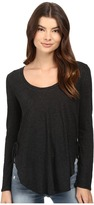 Lanston Lace-Up Side Tee