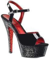 Pleaser USA Women's Kiss 209TTG Platform Sandal