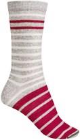 Woolrich Novelty Stripe Socks - Merino Wool, Crew (For Women)