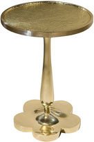 Theodore Alexander Padma Side Table, Gold