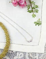 Joules Tiny Leaf Necklace