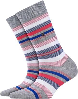 Burlington Women's Stripe Calf Socks