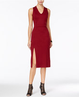 Armani Exchange V-Neck Sheath Dress