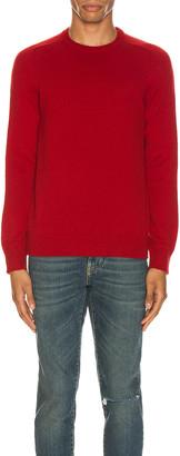 Saint Laurent Cashmere Sweater in Red | FWRD