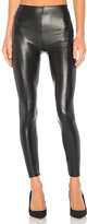David Lerner Seamed High Rise Legging in Black. - size L (also in S)