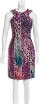 J. Mendel Patterned Knee-Length Dress