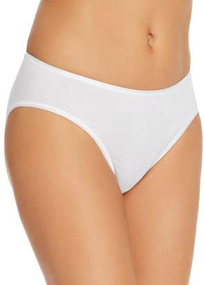 Hanro Cotton Seamless High-Cut Full Briefs