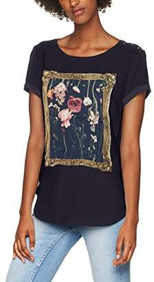 Rich & Royal rich&royal Women's's 1706-448 T - Shirt Midnight Blue 796, S
