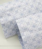 L.L. Bean Premium Egyptian Percale Standard Pillowcases, Print Set of Two