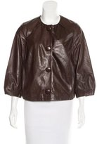 Vince Leather Casual Jacket