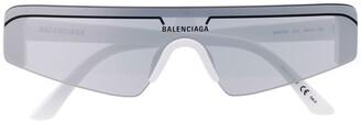Balenciaga Eyewear Ski rectangular-frame sunglasses