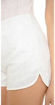 Line & Dot Lace Shorts