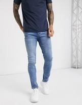 Bolongaro Trevor skinny jeans in blue