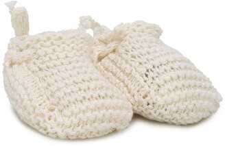 Message In The Bottle Gaby knitted slippers