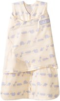 Halo Swaddle Cotton Linear Jungle Animal - Jungle Animal Blue - Small