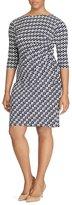 Lauren Ralph Lauren Plus Geometric Printed Jersey Dress