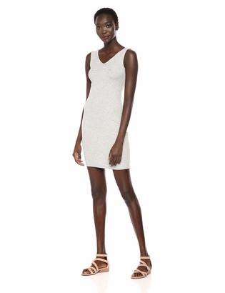 Bebe Women's Sleeveless Tank Style Dress with Scoop Neckline