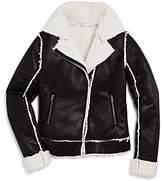 Splendid Girls' Sherpa-Lined Jacket - Big Kid