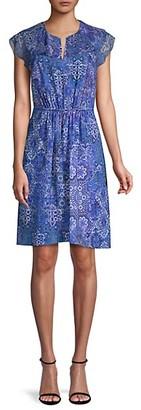 Elie Tahari Imogen Printed Dress