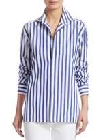 Ralph Lauren Iconic Capri Striped Cotton Shirt