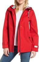 Joules Women's Right As Rain Waterproof Hooded Jacket