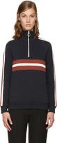 Harmony Navy Sidonie Zip-up Pullover