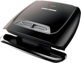 George Foreman 8-Serving Classic Plate Grill with Variable Temperature - Black