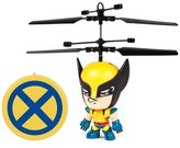 Wolverine World Tech Toys Marvel 3.5 Flying Figure IR Helicopter